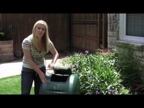 umbling compost bin